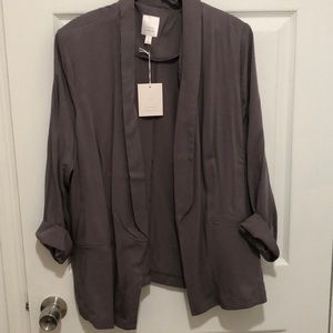 NWT: Lauren Conrad grey blazer